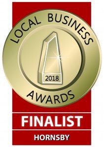 Local Hornsby Business Award Finalist