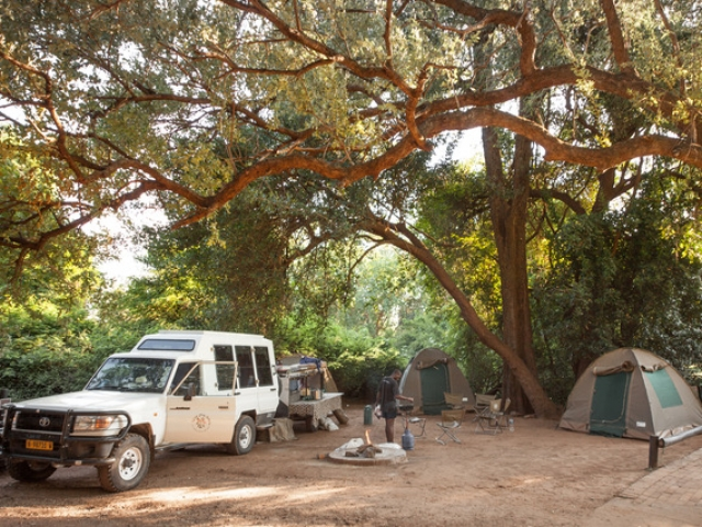 Chobe Safari Lodge Campsite, Kasane