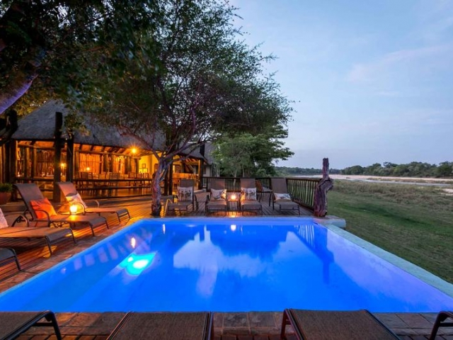 Family Holiday South Africa - Umkumbe Safari Lodge (Upgrade) - Overlooking the Sand River