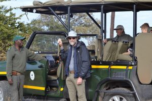 Getting ready for a Kruger National Park game drive