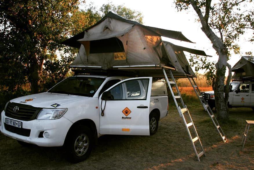 Self drive safaris, fully equipped 4x4