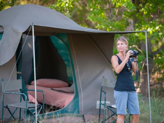 Essential Botswana, Spacious, comfortable tents