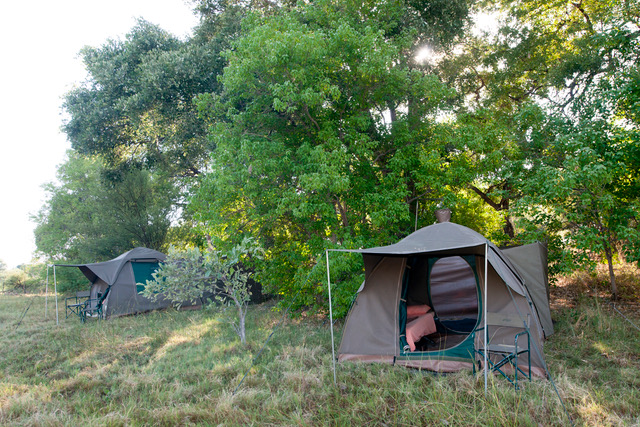 Essential Botswana, Spacious, comfortable tents