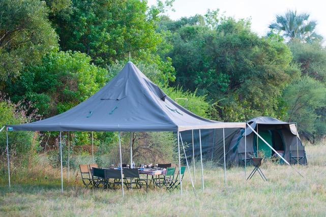 Essential Botswana, dining tent