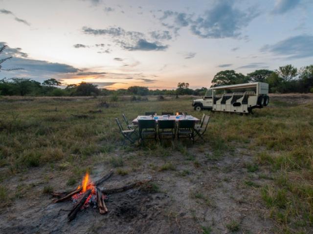 Essential Botswana, bush barbecue