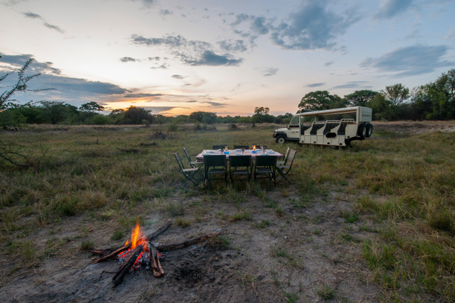 Essential Botswana, bush barbecue