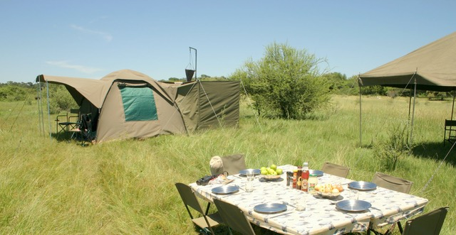 Essential Botswana, private campsites