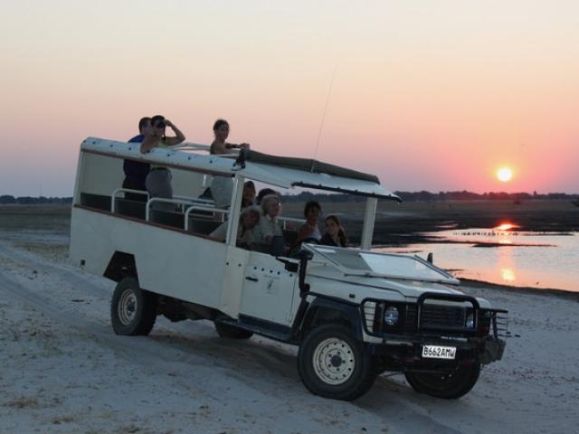Essential Botswana, Sunset on the Chobe River