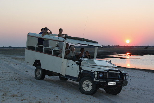 Essential Botswana, Sunset on the Chobe River
