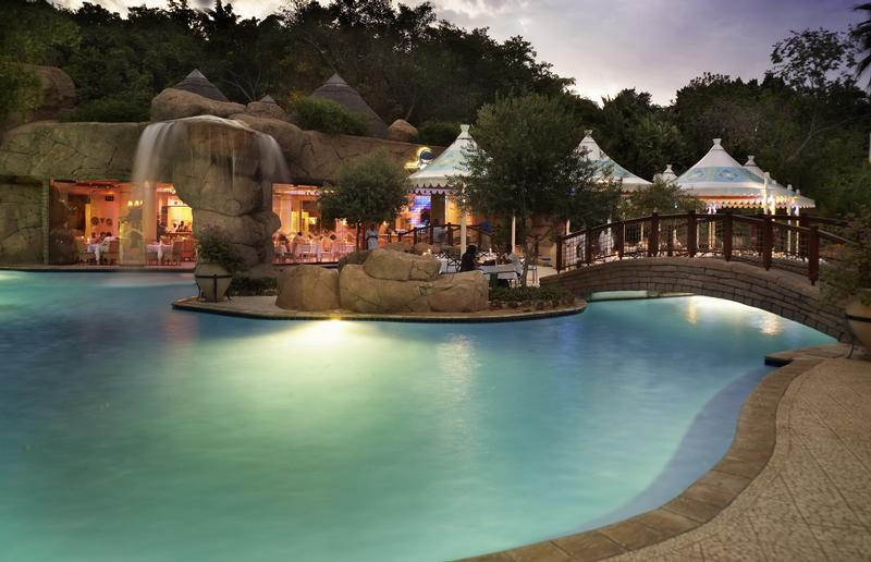 Family Holiday South Africa - Sun City Cascades Hotel (Upgrade) - Pool