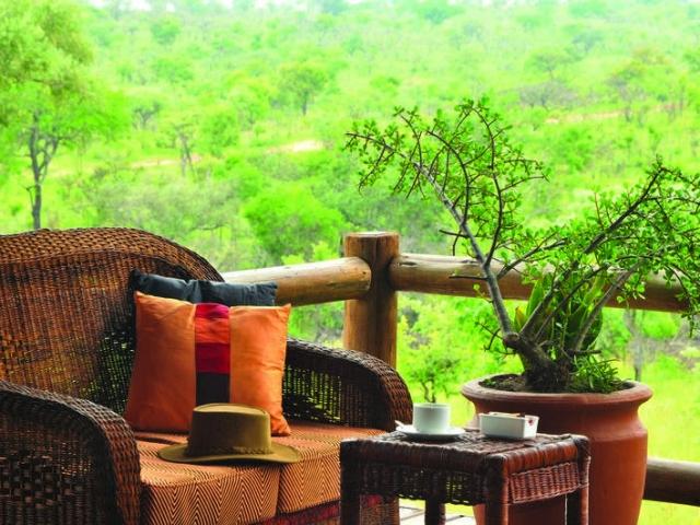 Nkambeni Safari Lodge (Standard) - your own private viewing deck