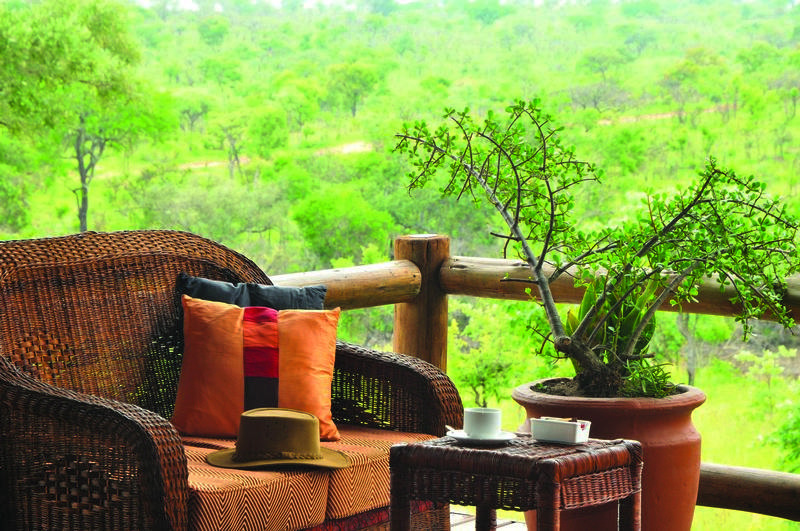 Family Holiday South Africa - Nkambeni Safari Lodge (Standard) - your own private viewing deck