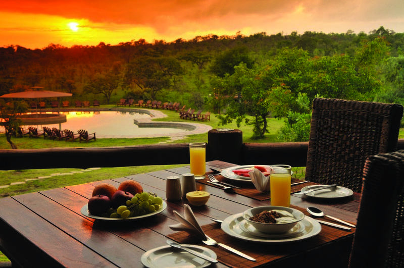 Family Holiday South Africa - Nkambeni Safari Lodge (Standard) - view over Kruger