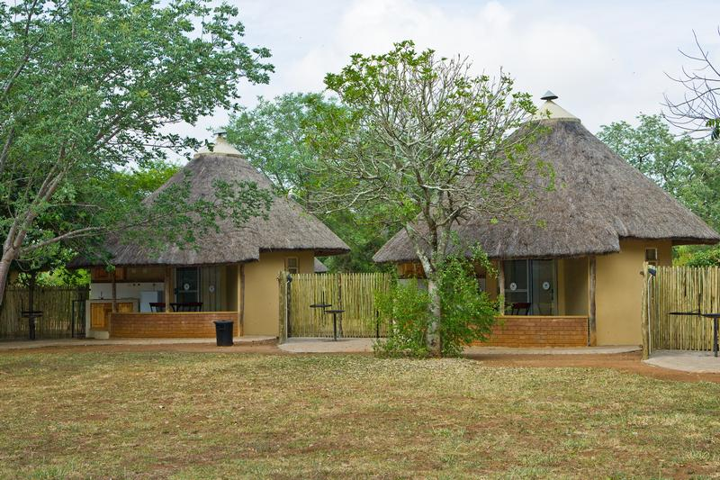 Family Holiday South Africa - Satara Restcamp bungalow