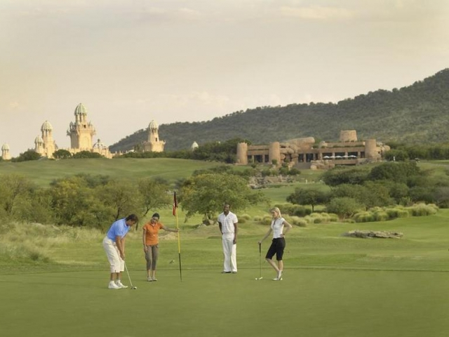 Family Holiday South Africa - Golf at Sun City