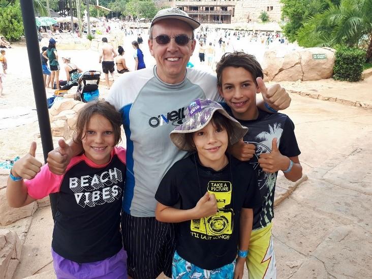 Family fun at Sun City, South Africa