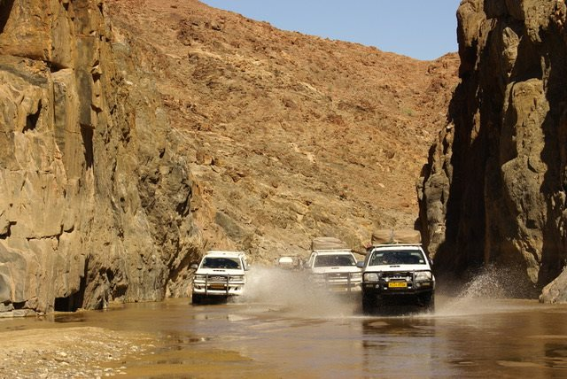 Namibia self drive guided tour