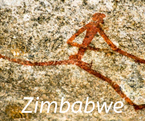 Travel itineraries southern Africa - rock art,Zimbabwe