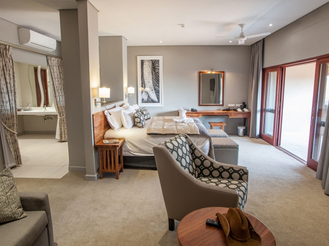 Luxury Room, Chobe Bush Lodge, Botswana (Upgrade option)