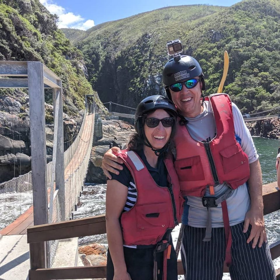Ready for the Storms River Kayak and Lilo adventure