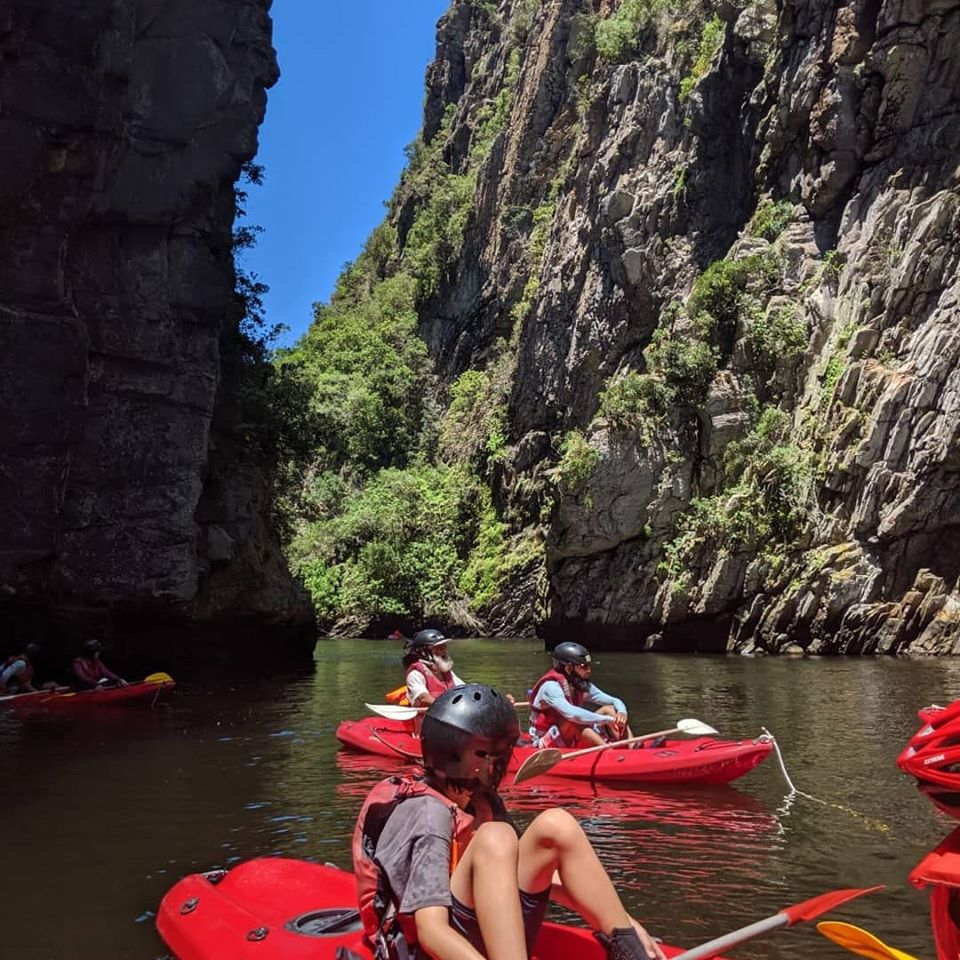 Storms River Kayak and Lilo adventure