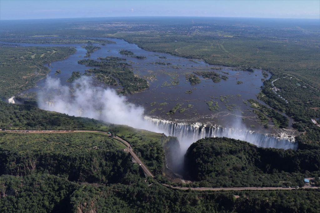 Victoria Falls, Zimbabwe, Flight of Angels