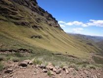 South Africa, Drakensberg, Sani Pass