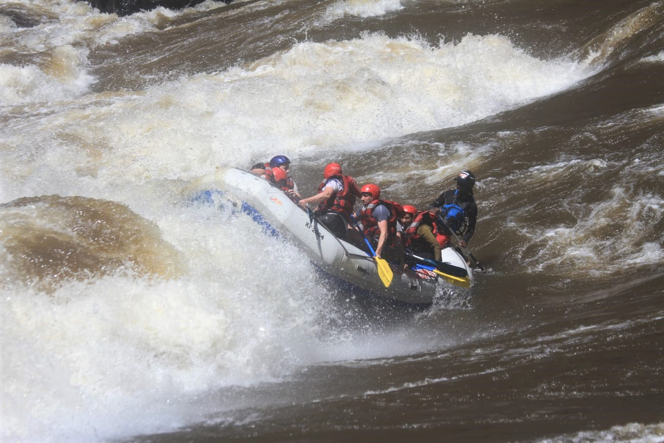 Whitewater rafting Victoria Falls