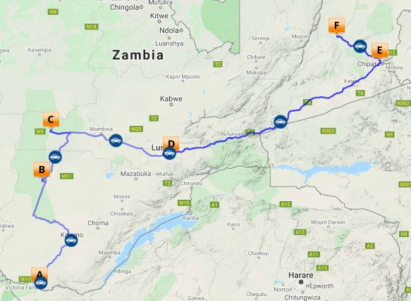 Self drive Classic Zambia