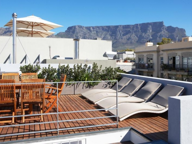 Family Holiday South Africa - De Waterkant Apartments, Roof Top Pool (Standard)