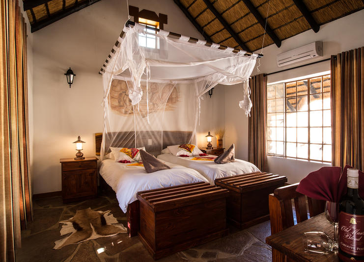 Namibia Wonders - Canyon Village - Bedroom, Fish River Canyon (Standard)