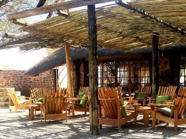 Namibia Wonders - Elegant Desert Lodge - Terrace, Sesriem (Standard)