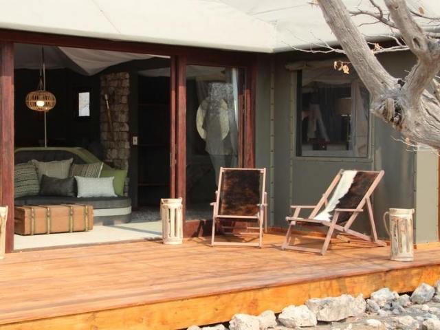Namibia Wonders - Etosha Oberland Lodge, Safari Tent Deck - Etosha (Upgrade)