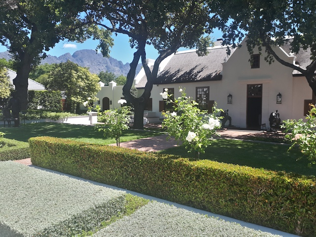 Family Holiday South Africa - Franschhoek
