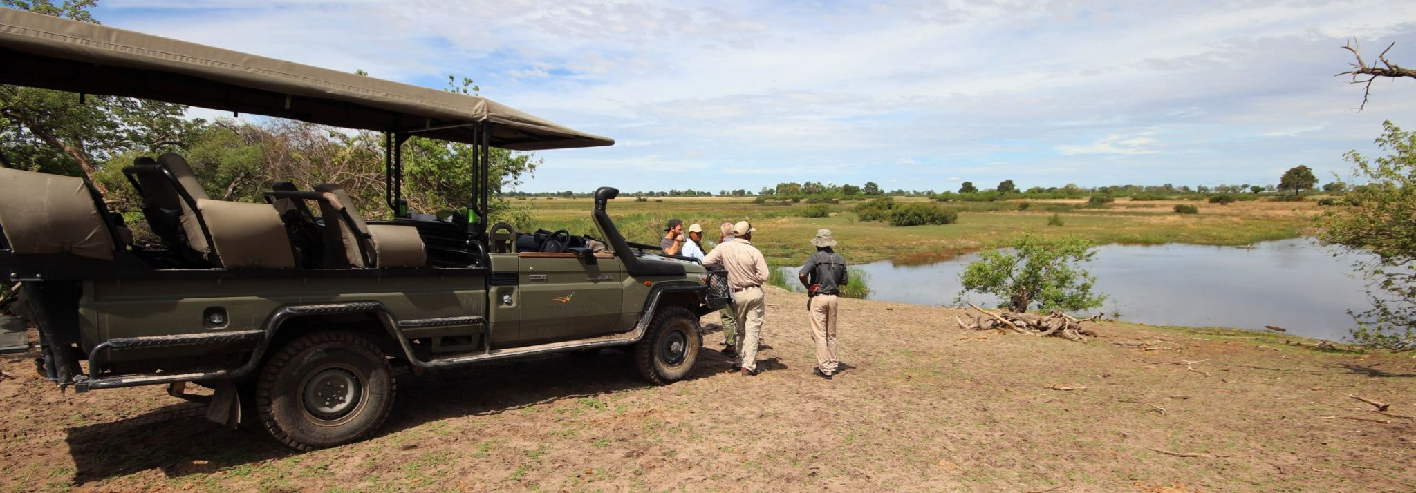 Guided safari Botswana