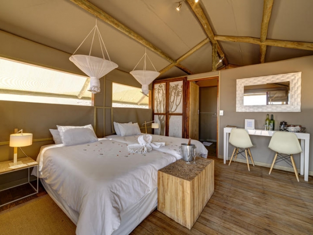 Cape to Windhoek - Kanaan Desert Retreat, southern Namibia (Standard & Upgrade), safari tent