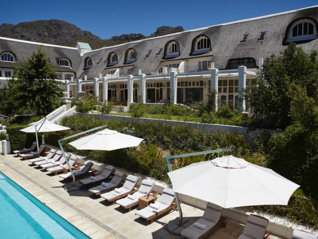Family Holiday South Africa - Le Franschhoek Hotel & Spa, Pool (Upgrade)