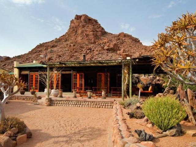 Namibia Wonders - Namtib Desert Lodge - Reception, Tiras Mountains (Standard)