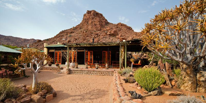 Namibia Wonders - Namtib Desert Lodge - Reception, Tiras Mountains (Standard)