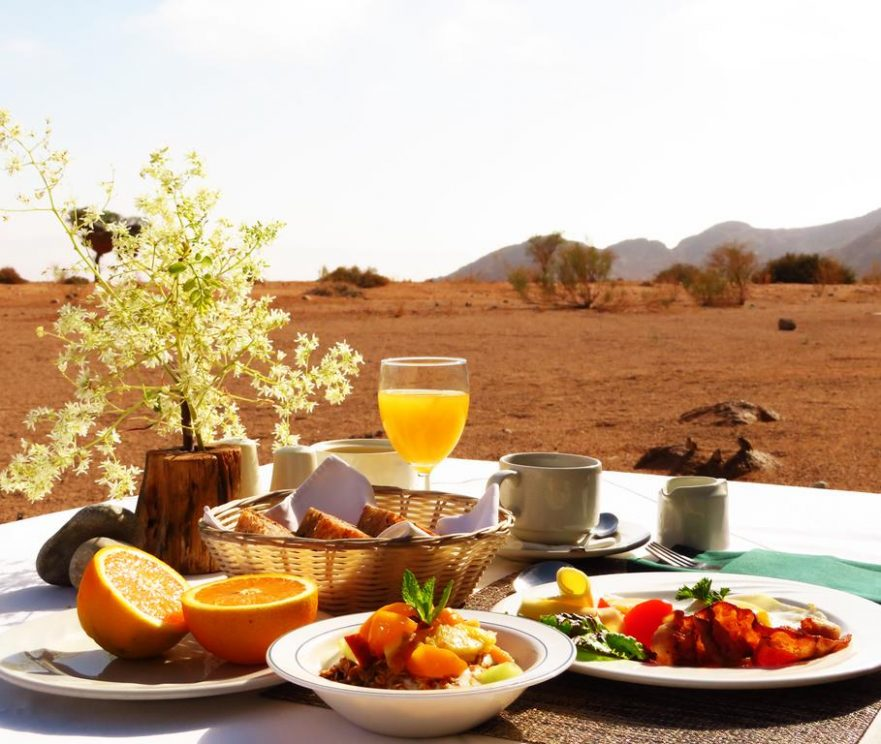 Sossusvlei Magic - Namib-Naukluft Lodge, Breakfast Views (Upgrade)
