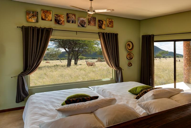 Namibia Wonders - Okonjima Plains Camp, Room with a view - Central Namibia (Upgrade)