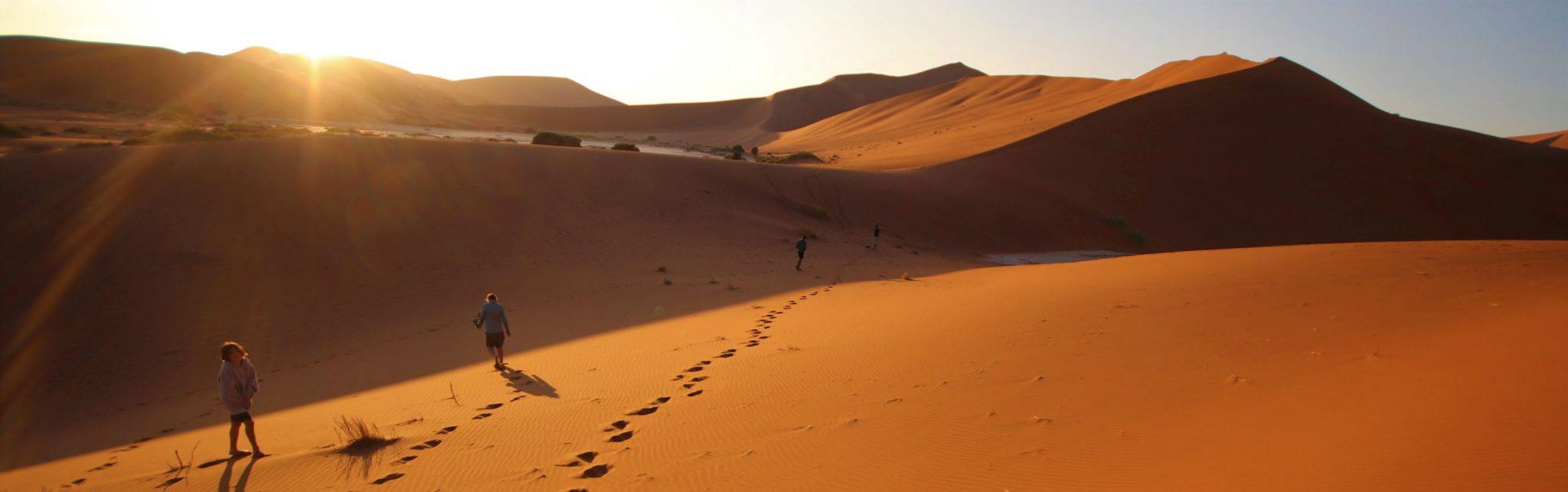 Sossosvlei sunrise, Namibia tours and travel