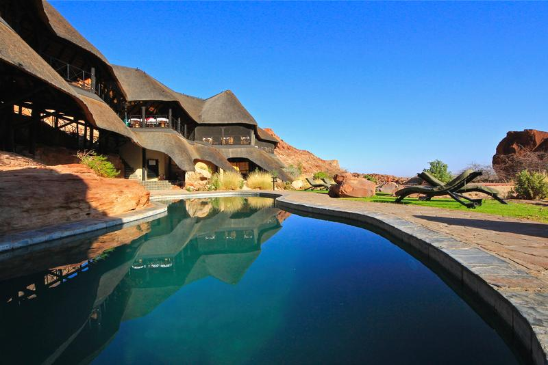 Namibia Wonders - Twyfelfontein Country Lodge, Pool - Damaraland (Standard)
