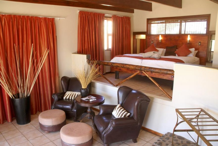Namibia Wonders - Intu Africa Zebra Lodge - Bedroom, Kalahari (Upgrade)