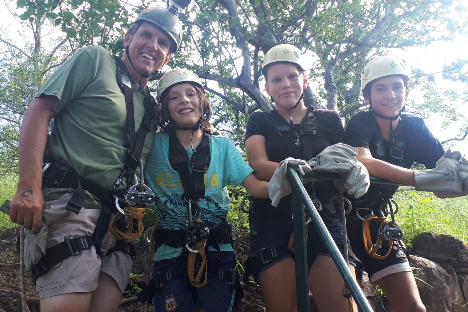 Canopy tour, Victoria Falls - - Southern Africa holiday activities