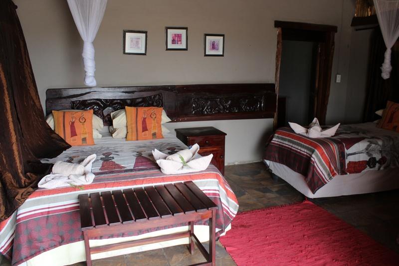 Family Self-Drive Botswana - Elephant Sands Chalet Interior (Standard)