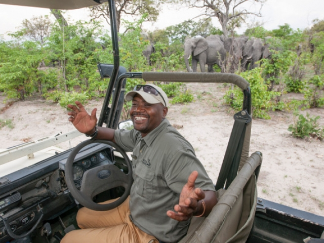 Khwai Guest House Game Drive