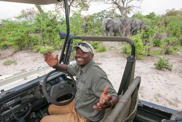 Family Self-Drive Botswana - Khwai Guest House Game Drive