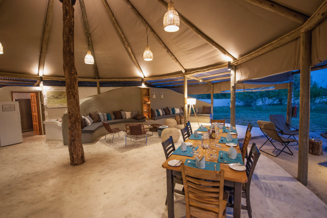 Family Self-Drive Botswana - Khwai Guest House Dining Room