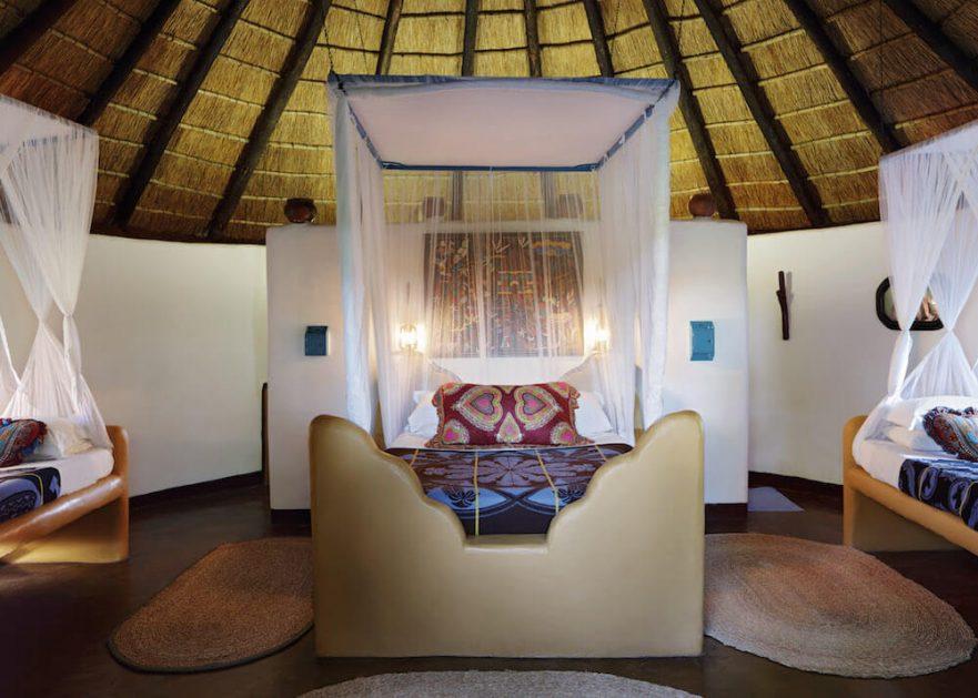 Family Self-Drive Botswana - Planet Baobab Bakalanga Hut